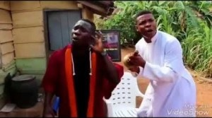 Video: Woli Agba - Dele demonstrates his rapping abilities during service